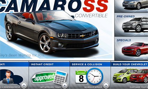 Delillo Chevrolet : Website : SEO : Mobile